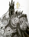 The Lich King by TheArtTsar