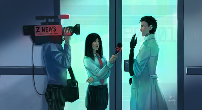 Interview at the Ground Zero labs by DamaiMikaz