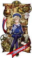 Hetalia bookmark -Norway- by illegal-alliage