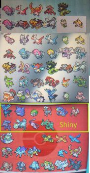 just my pokemon for trading purposes and stuff by dennismennis13