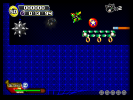 Emerald Darkgame New Object! Spikeball and bumper by NSMBXomega