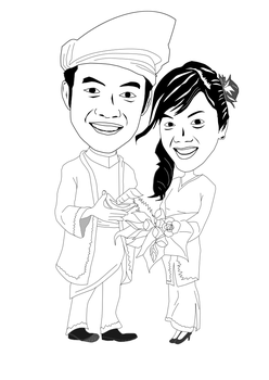 Man Tapau with his love Farra by quedhavoc