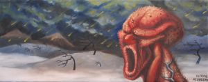 Shouting red guy by niconosave