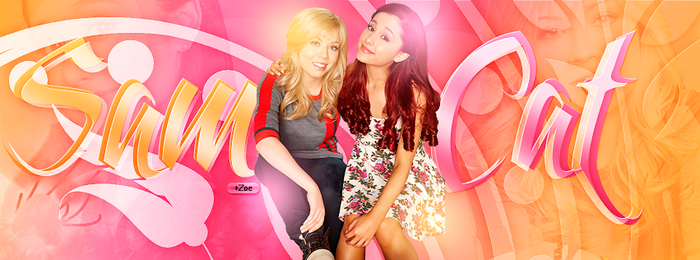 +Sam y Cat by LightsStars