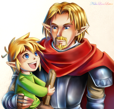 Father and Son by NekoLoveLetter