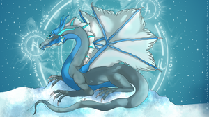 Dragon Symbol by LumaStern
