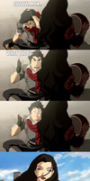 Legend of Korra - Amon, the ladies man... by yourparodies