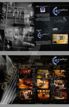 Brochure e-gallery interface by Lomokikuyu
