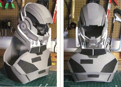 Mass effect n7 armor i by hsholderiii on deviantart for Mass effect 3 n7 armor template