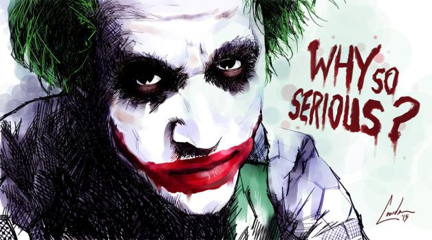 Why so serious? by toddworld