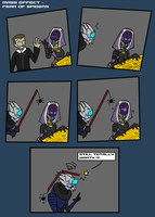 Mass Effect - Fear of spiders by Finjix