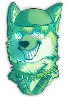 lex the wolf bust by pomskies