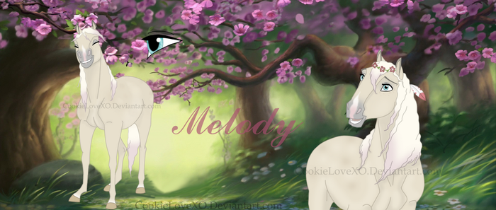Melody Ref by CookieLoveXO