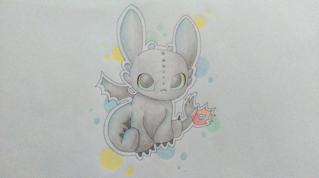 Toothless by SoulSiIver