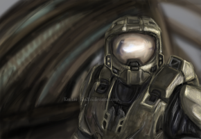 Halo 3 : Master Chief by KenXVII