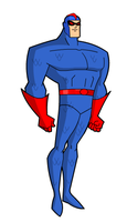 Blue Beetle 1 via Hero Creator by Gwhitmore