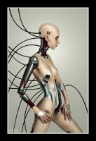 Cyber Kayla 01 by XK-Images