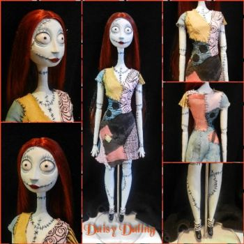 Disney's TNBC Sally Ooak Doll Repaint by DaisyDaling