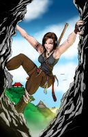 Lara Croft - Colors by Archaeopteryx14 by hudsonvisual