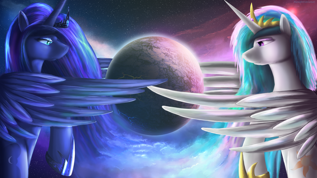 Equilibrium of the world by Bluenight01