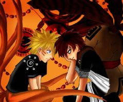 Naruto--The monster within me by DarkSahdow