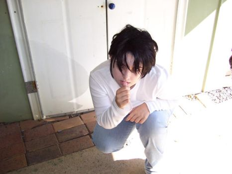 Me as L for animania 2008 by Catofhope