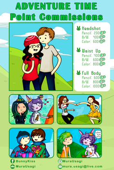 .:Adventure Time Point Commissions:. by MuraUsagi