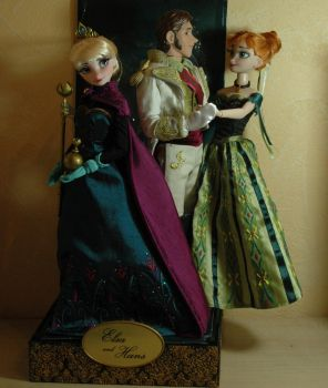 Anna  coronation doll ooak and by VizZza