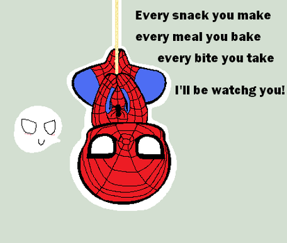 he is watching you by SpideyDoggy