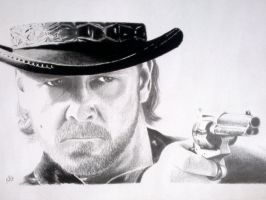 Russell Crowe 'Ben Wade' from 3:10 To Yuma by artifex29