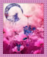 Fairies in a Pink Gloaming by Calisaroa