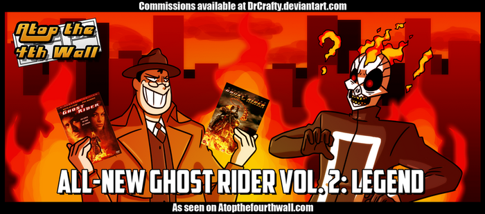 AT4W: All-New Ghost Rider vol. 2- Legend by DrCrafty