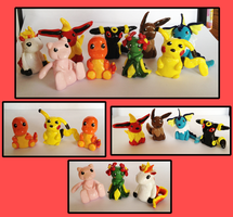 Pokemon Miniatures by IcyPanther1