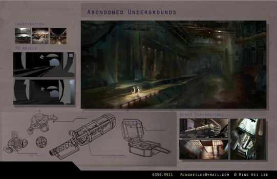 Concept Undergrounds by MingHeiLee