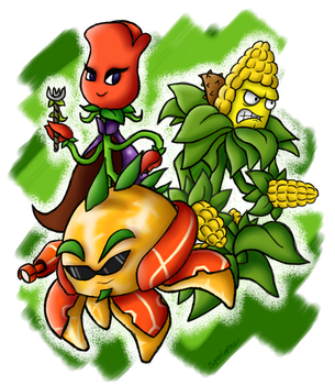 New Heroes of the Garden Warfare by SuperLakitu