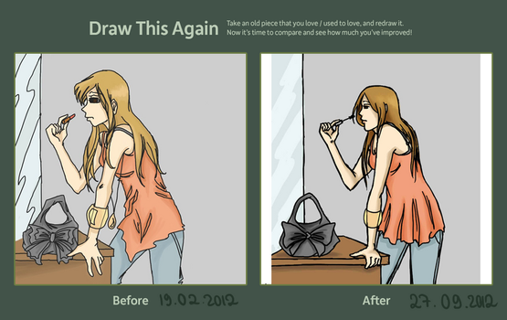 Sophisticated - improvement meme by LilyScribbles