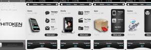 Whitoken iphone theme by 6mik by darren-coates