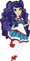 Ever After High oc - Genevieve North by starfirerencarnacion