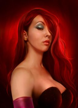 Jessica Rabbit by ElenaDudina