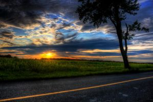 Connecticut Hills Sunset by Bramsey89