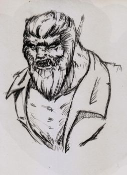 Wolfman Concept by ShadetheMystic