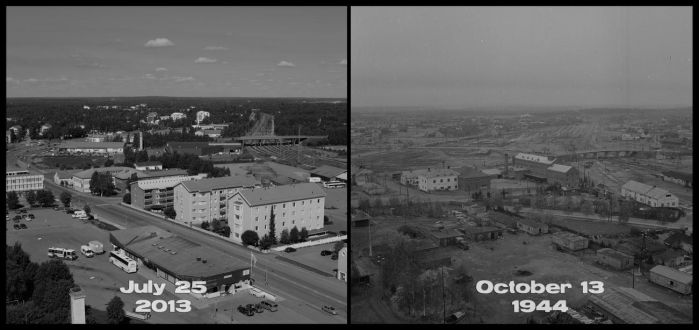 1940's vs 2013, part XIII by wchild