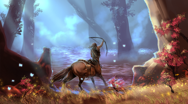 Beyond the plains by Roiuky