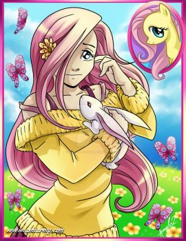 Flutter Shy My Little Pony by Amelie-ami-chan