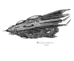 Spacecraft by ChayaA