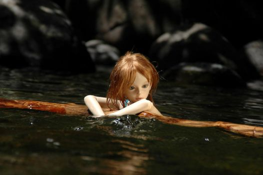 Dolls in water by Frankenwah