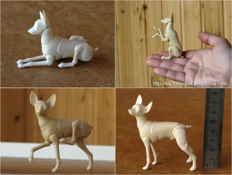 Russian-Toy-Terrier 5 by leo3dmodels