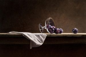 Stillife with Plums by m-v-c