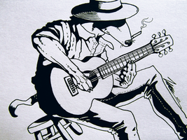 This Old Dog Will Play You Some Blues by Tales-of-Torment