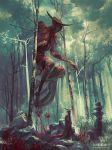 Bezaliel, Angel of Shadow by PeteMohrbacher